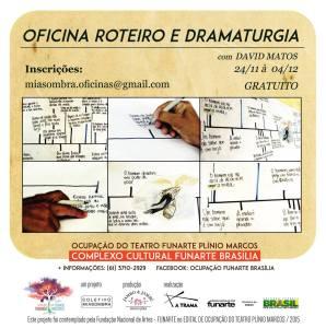 Banner OF. Roteiro Drama