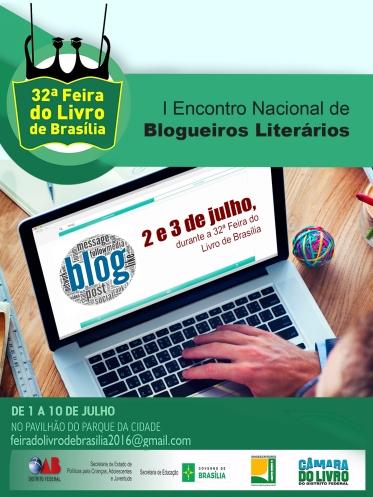 I Encontro Nacional de Blogueiros Literários - Divulgacao